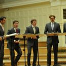 The King's Singers. David Hurley, Timothy Wayne-Wright, Paul Phoenix, Christopher Bruerton, Christopher Gabbitas, Jonathan Howard. / fot. T. Boniecki (04.06.2013)