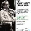 The Adam Taubitz Fusion Band - plakat koncertu